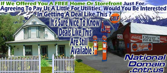 Wow, Is It Still Really Possible To Get A FREE Home Or Storefront?
